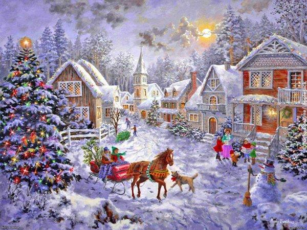 С рождеством 7 января картинки