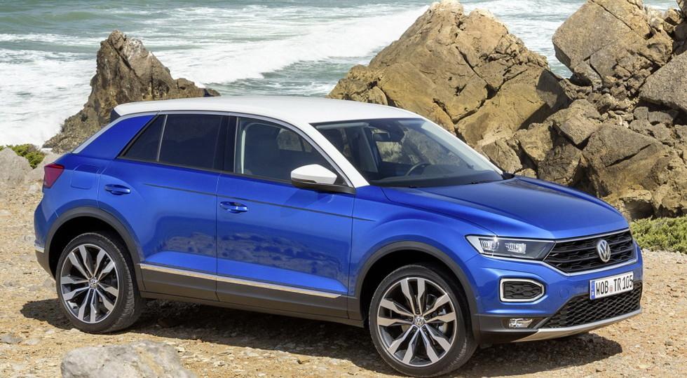 Volkswagen сделает из кроссовера Volkswagen T-Roc кабриолет