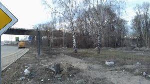 Горожане нашли под Димитровским мостом тонны пыли и грязи