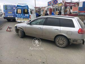 Два ДТП с общественным транспортом произошло в Новосибирске