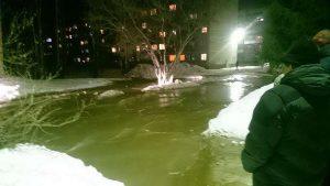 В Бердск отремонтируют затопленную весной улицу Лунную