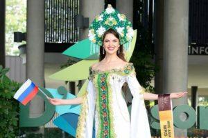Медалью к 125-летию Новосибирска наградили «Миссис Азию»