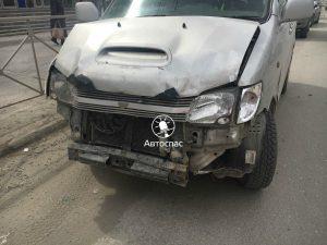 Жесткое ДТП в центре Новосибирска - пострадали трое