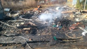 Сожгли дачу у новосибирского общественника Ростислава Антонова
