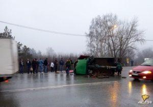 В Новосибирской области произошло два ДТП с автобусами