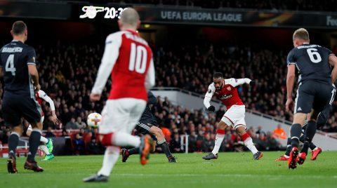 Арсенал победил ЦСКА со счетом 4:1