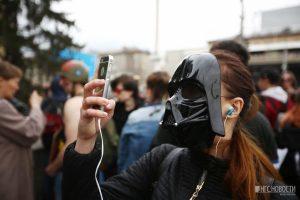 Около 3 тысяч новосибирцев собрала первомайская Монстрация