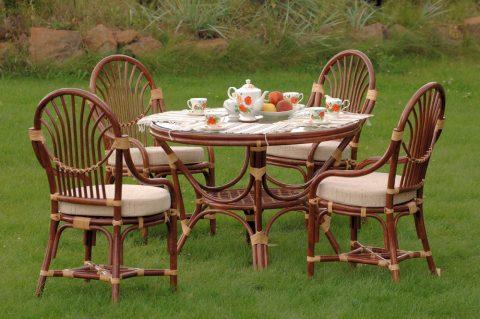 Мебель для сада сможет сделать ваше времяпровождение на природе максимально комфортным и приятным