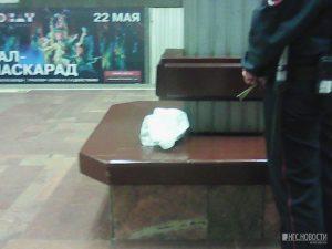Подозрительная сумка заставила эвакуировать пассажиров станции метро «Площадь Ленина»