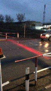 ЖД-переезды в Новосибирске оборудуют светодиодными стоп-линиями