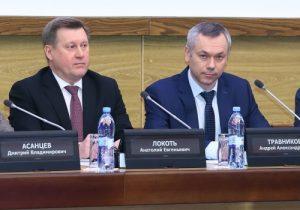 Травников и Локоть на заседании правительства поссорились из-за инженерных сетей