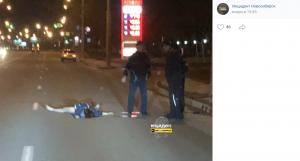 В Новосибирске водитель «Жигулей» насмерть сбил женщину-пешехода (ФОТО 18+)
