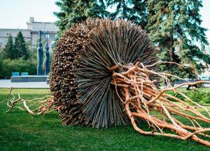 В Новосибирске пройдет арт-неделя по ваянию скульптур из природных материалов