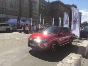 В День города в Новосибирске прошло Mitsubishi Road Show 2018