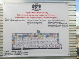 В Новосибирске на Плющихинском начали строить детский сад