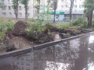 В Новосибирске на Порт-Артурской водой залило почти 800 домов