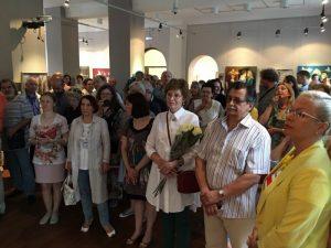Открылась выставка памяти новосибирского художника Александра Шурица
