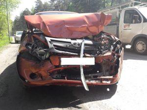 Жёсткое ДТП на Первомайке: женщина за рулём «Лады» сломала рёбра