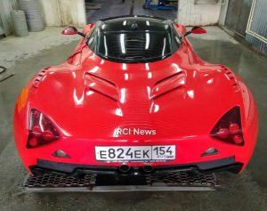 VIP-Service в Новосибирске восстановил первый российский спорткар Marussia B1