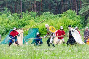 Фестиваль «Перекрёстки истории» собрал реконструкторов Новосибирска