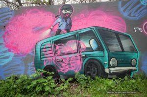 2ГИС нанёс на карту необычные граффити Новосибирска