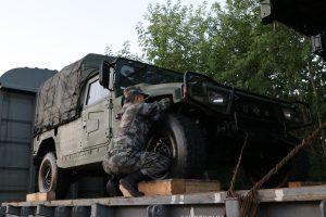 В Новосибирск прибыл поезд с китайской военной техникой