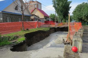 В Бердске начали ликвидацию крупнейшей коммунальной аварии десятилетия