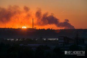 Мэр Локоть считает поджог причиной пожара на Хилокском рынке