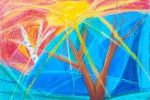 Абстрактную картину новосибирского школьника Даниила Габриеляна выставят в Третьяковке