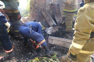 Заброшенная котельная в Новосибирске обрушилась на мужчину