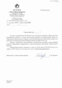 Власти Новосибирска попросили бизнес помочь с явкой на выборы