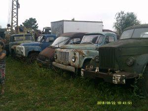 В Новосибирске нашли кладбище мертвых грузовиков