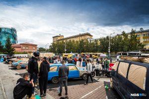 Потешный троллейбус выедет на улицы Новосибирска