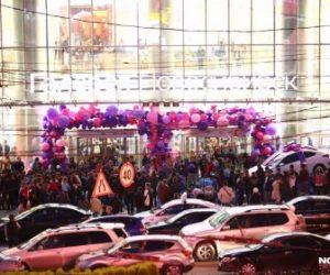 Джиган и Hyundai Solaris спровоцировали давку в «Галерее Новосибирск»