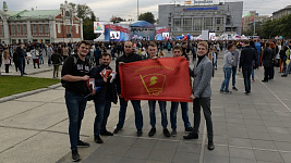 Новосибирск: полиция задержала комсомольцев на студенческом параде