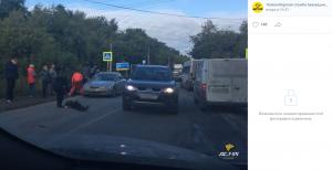"""""""Хонда"""" сбила двух девушек-подростков под Новосибирском"""