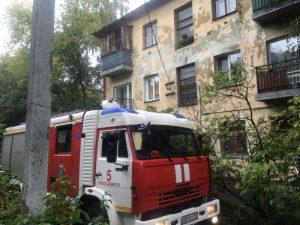 Пожарные спасли 12 человек из горящего дома в Заельцовском районе Новосибирска