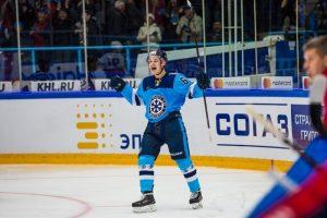 Нападающий «Сибири» Никита Михайлов стал лучшим новичком недели в КХЛ