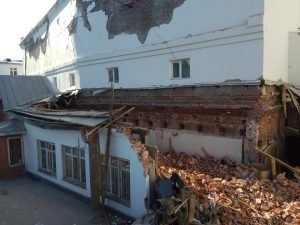 Власти Новосибисрка контролируют снос кинотеатра «Металлист»