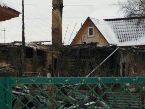 Пожар в Октябрьском районе: погиб мужчина