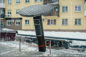 Новосибирец просит демонтировать памятник гвоздю на Студенческой