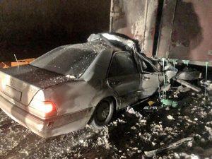 Смертельное ДТП с фурой под Новосибирском: погиб водитель «Мерседеса»