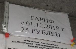 Проезд в маршрутках Бердска подорожает до 25 рублей с 1 декабря
