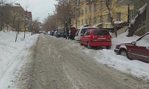 Снежная каша покрыла тротуары Новосибирска