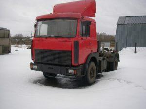 Полиция Новосибирска нашла украденный «СуперМАЗ»