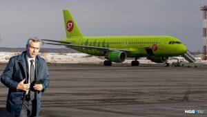 Правительство НСО арендовало самолет для полета Андрея Травникова в Минск