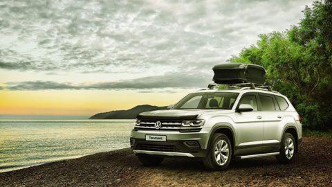 Volkswagen Teramont 2018: полноразмерный кроссовер для семейных путешествий