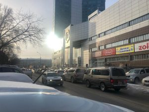 Новосибирск: на левом берегу эвакуируют «Сан Сити»