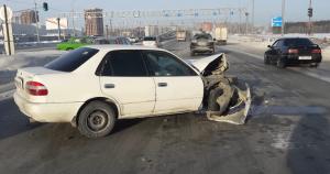 ДТП на Советском шоссе в Новосибирске: пострадал один человек