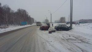 Жёсткое ДТП на трассе под Новосибирском - пострадал ребенок
